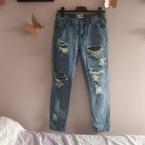 One x One teaspoon Ripped Jeans